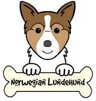 Norwegian Lundehund Cartoon T-Shirts and Gifts