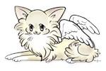 Long Cream Chihuahua Angel