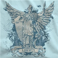Libertas Liberty Goddess Design