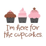 Here for the Cupcakes