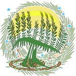 Green Tree Menorah