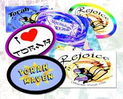 Simchat Torah Stickers