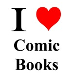 I love comic books.  Simple and to the point.  If you are a comic book geek than this shirt is the tshirt for you.