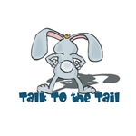 Talk to the Tail Bunny Rabbit