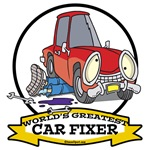 WORLDS GREATEST CAR FIXER CARTOON