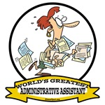 WORLDS GREATEST ADMINISTRATIVE ASSISTANT CARTOON