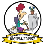 WORLDS GREATEST DIGITAL ARTIST FEMALE
