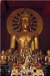 Golden Budha Shrine