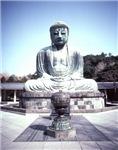 Giant Bronze Budha Shrine