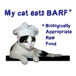 My cat eats BARF