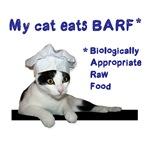 My cat eats BARF