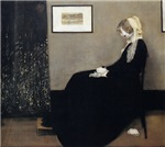 Whistler's Mother's Cat