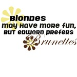 Edward Prefers Brunettes