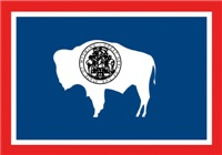Wyoming State Flag Men's Clothing
