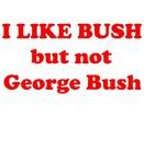 I like bush, but not George Bush