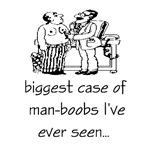 Man-boobs