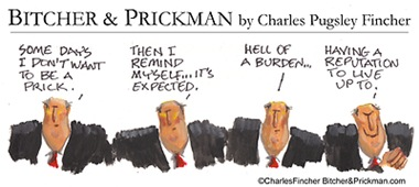 Richard Prickman's Burden