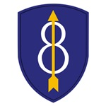 8th Infantry Division Shoulder Patch