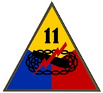 11th Armored Division Patch