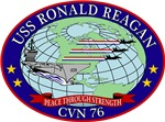 T-shirts, hats, stickers & gifts with the USS Ronald Reagan