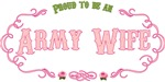 T-shirts, hats, mugs, stickers and gift items for the Army Wife