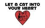 Let a cat into your heart