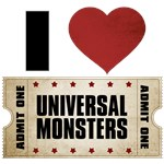 I Heart Universal Monsters Ticket