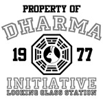 Property of Dharma Initiative - Looking Glass Stat