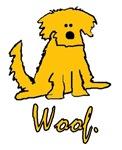 Yellow Puppy WOOF