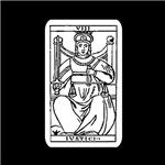 Vintage Justice Tarot Card