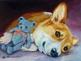 Corgi My Teddy