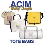 ACIM-Know Nothing..Learn Everything Totes & Bags