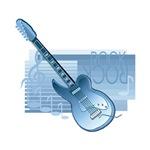 blue guitar electric