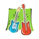 bass n amp colorful