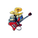 guitar drumset image