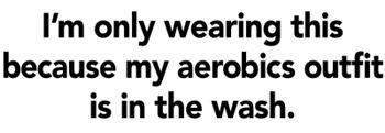 Aerobics Outfit