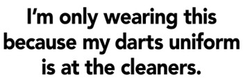 Darts Uniform