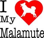 I Love My Malamute
