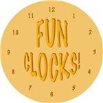 Fun Clocks!