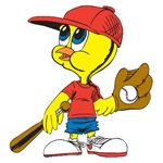 Baseball Birdy T-shirts and Gifts