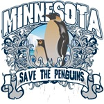 Save the Penguins Minnesota T-Shirts and Gifts