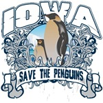 Save the Penguins Iowa T-Shirts and Gifts