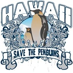 Save the Penguins Hawaii T-Shirts and Gifts