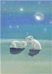 Twinkling Winter Polar Bears