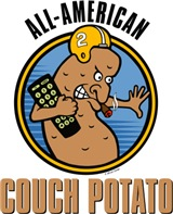 All-American Couch Potato merchandise