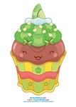 Kawaii Kiwi Cupcake
