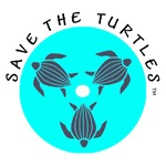 Save the Turtles Logo T-shirts