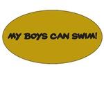 MY BOYS CAN SWIM! (EXPECTING DAD)