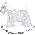 West Highland White Terrier T-shirt, T-shirts