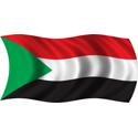 Wavy Sudan Flag